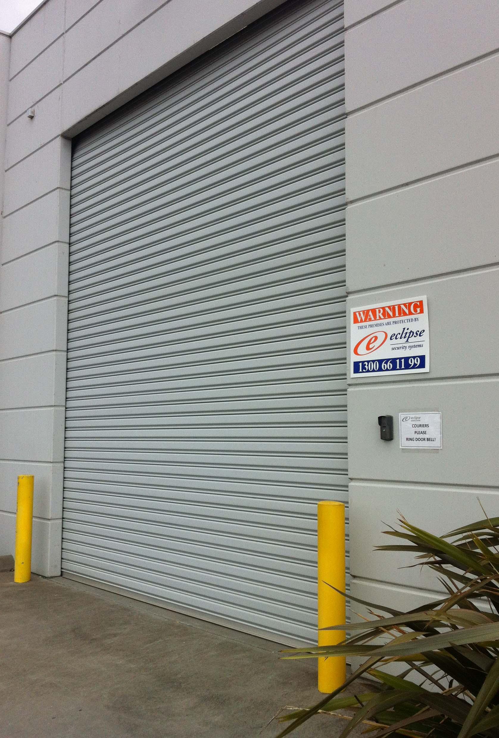 Security Warning Sign, External