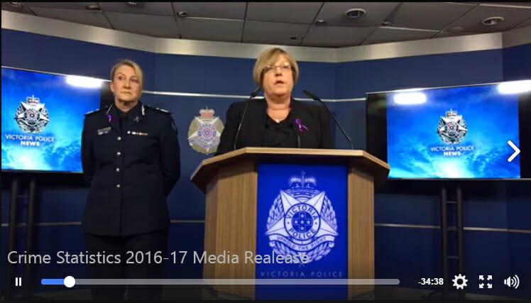 Victoria Crime Statistics 2017