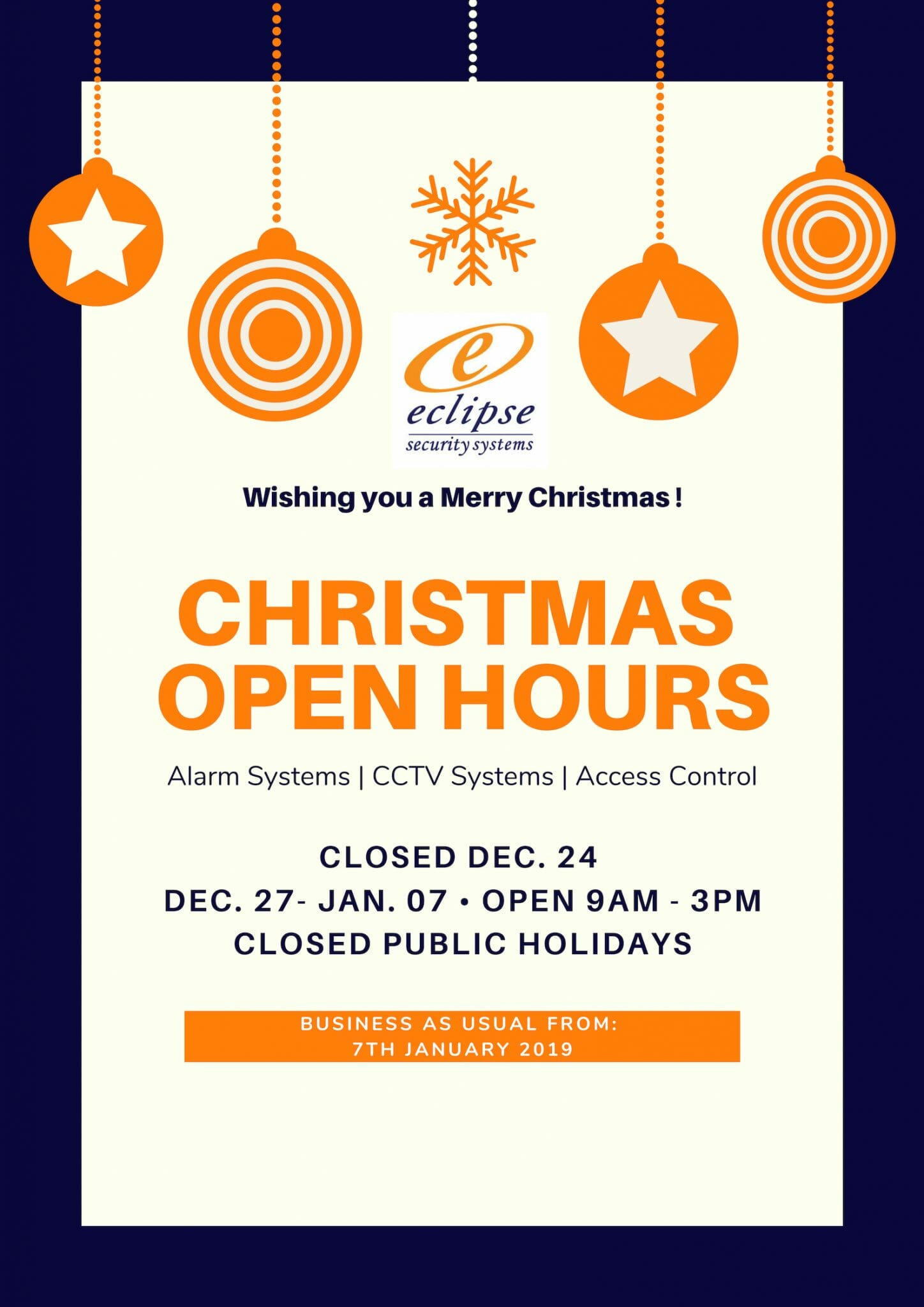 Eclipse Xmas Open